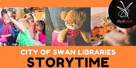 Bullsbrook  Library Storytime (Wednesdays) tickets