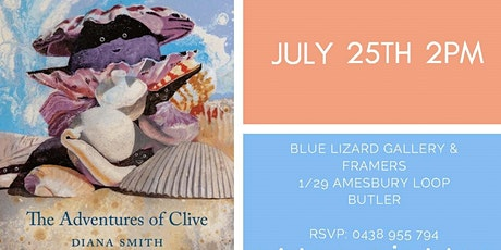 The Adventures of Clive  | Book Launch | WA Best Selling Author tickets