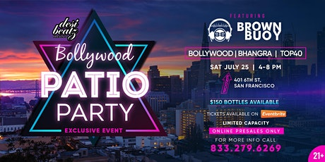 Bollywood Patio Party (Limited Capacity) tickets
