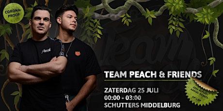 Team Peach & Friends • Schutters • 25 Juli • LATE SHIFT tickets