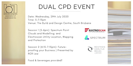 Dual CPD: Electroscan and Future-proof your Business tickets