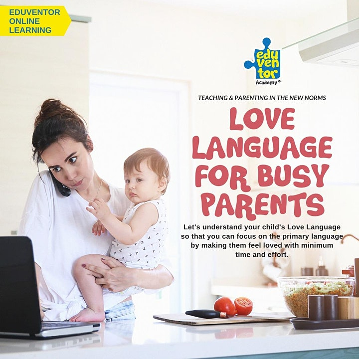Love Language for Busy Parents image