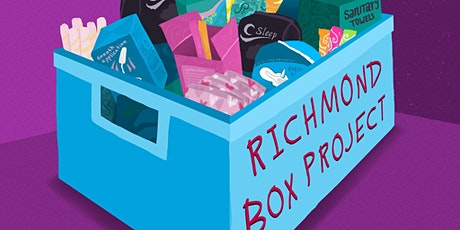 RichmondBoxProject - Sanitary products tickets