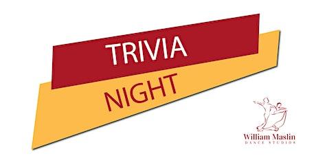 Trivia night tickets