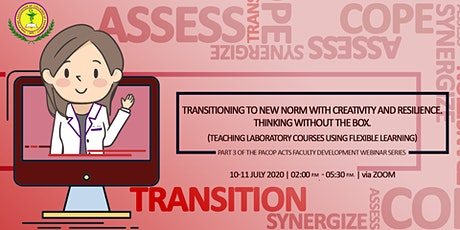 Transitioning to New Norm with Creativity and Resilience. tickets