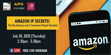 AMAZON IP SECRETS! The Key Amazon.com E-Commerce Patents Revealed tickets