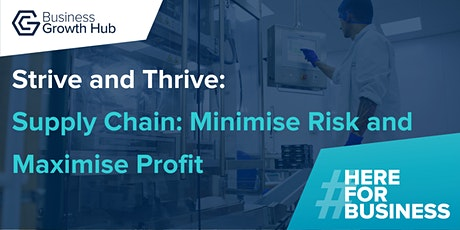 Strive and Thrive - Supply Chain: Minimise Risk and Maximise Profit tickets