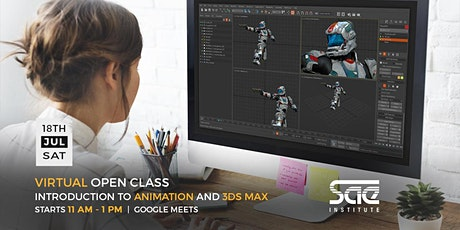 Virtual Open Class: Introduction to Animation and 3ds Max tickets