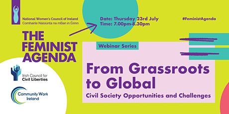 From Grassroots to Global - Civil Society Opportunities and Challenges tickets