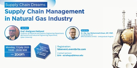 Supply Chain Management in Natural Gas Industry tickets