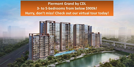 Piermont Grand EC Showflat Presentation – Viewing By Appointment Only tickets