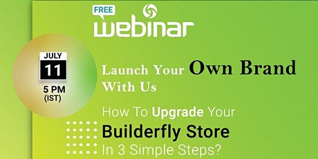 Launch Your Online Store With Builderfly-  All-Inclusive Ecommerce Platform tickets