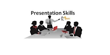 Presentation Skills 1 Day  Virtual Live Training in Boston, MA tickets