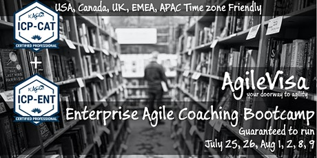 (2 seats left) Enterprise Agile Coaching Bootcamp (ICP-CAT & ICP-ENT) tickets