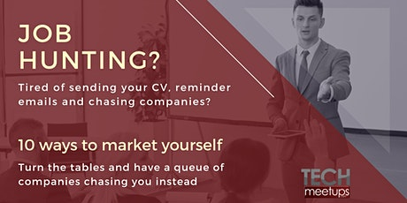 Job hunting? 10 ways to market yourself tickets
