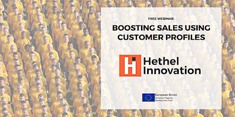 Boosting Sales using Customer Profiles - Webinar tickets