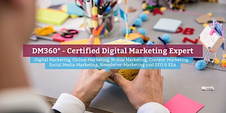 DM360° - Certified Digital Marketing Expert, Online Tickets