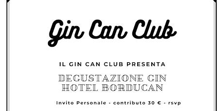 Gin Can Club | Hotel Borducan Varese biglietti