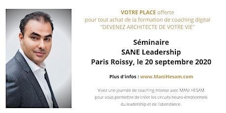 Séminaire Mani Hesam, Devenez Architecte de votre vie , à Paris entradas