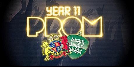 Elizabeth College & Ladies' College Year 11 Prom tickets