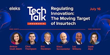 ELEKS TechTalk Regulating Innovation: The Moving Target of Insurtech ingressos