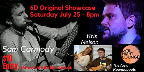 Late Night Lounge - Feat: Sam Carmody, Kris Nelson, & The New Roundabouts tickets