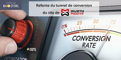 [Webinar] Cas client : la Refonte du tunnel de conversion de Würth Modyf billets