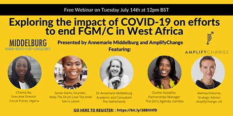 Webinar #5 - The impact of Covid-19 on ending FGM in West Africa tickets