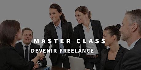 Master Class - Devenir Freelance - billets