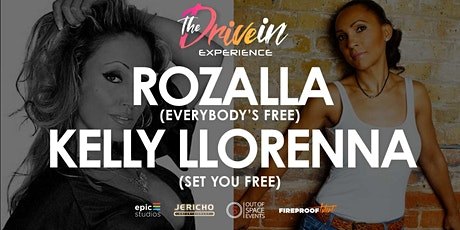 KELLY LLORENNA OF N-TRANCE / ROZALLA LIVE at Norwich Drive-In Experience tickets