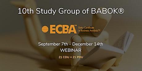 Gruppo di Studio (GdS) 2020 per le certificazioni IIBA biglietti