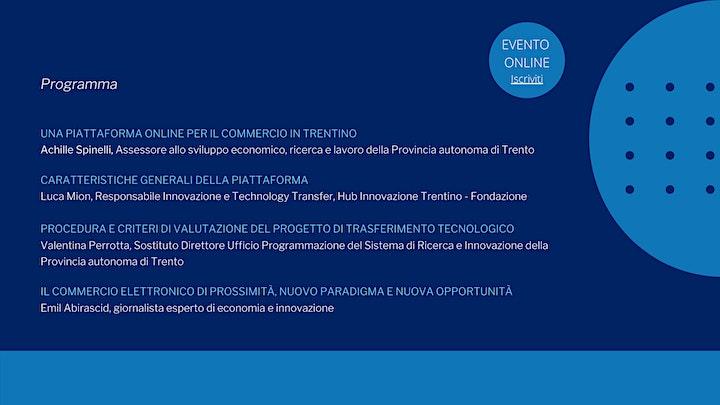 Immagine Una piattaforma per lo sviluppo del commercio elettronico in Trentino