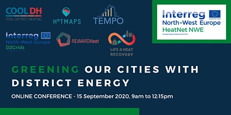 Greening our cities with district energy - HeatNet NWE Final conference tickets