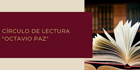 """Círculo de lectura de cuento """"Octavio Paz"""" entradas"""