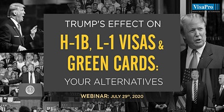 Trump's Effect on H-1B, L-1 Visas & Green Cards: Your Alternatives tickets
