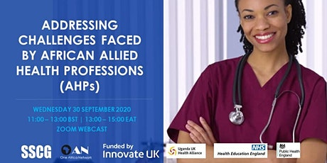 Addressing Challenges Faced by African Allied Health Professions (AHPs) tickets