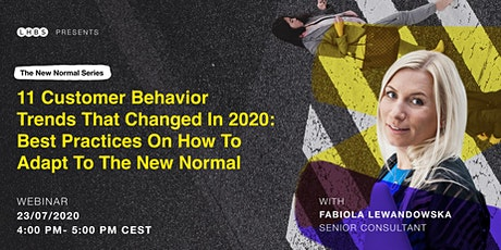 11 customer behavior trends that changed in 2020 tickets