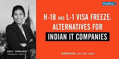 H-1B And L-1 Visa Freeze: Alternatives For Indian IT Companies tickets
