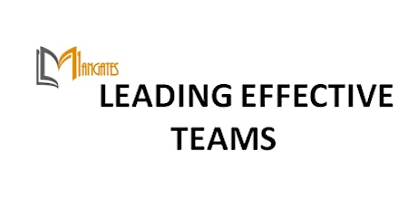 Leading Effective Teams 1 Day Training in Dusseldorf entradas