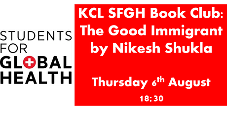 KCL SFGH Book Club: The Good Immigrant by Nikesh Shukla tickets