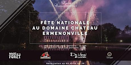 14 Juillet Magique au Château d'Ermenonville billets