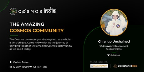 #KnowCosmosBetter Meetup: The Amazing Cosmos Community with Chjango tickets