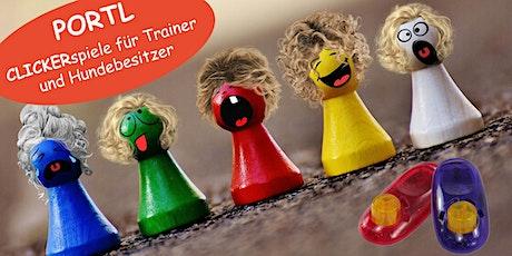 PORTL - Clickerspieleabend für Trainer und Hundehalter Tickets