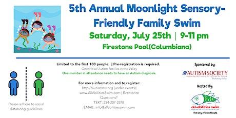 ASMV (Autism) Moonlight Family Swim tickets