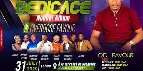 Album Launch - Overdose Favour - OD Favour billets