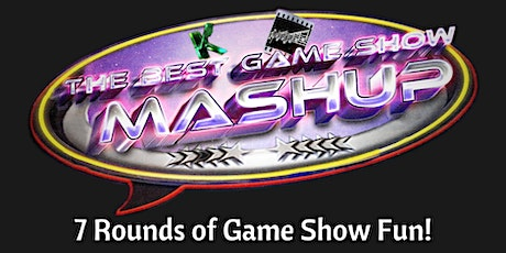 Epic Gameshow Mashup in aid of ECHO Charity tickets