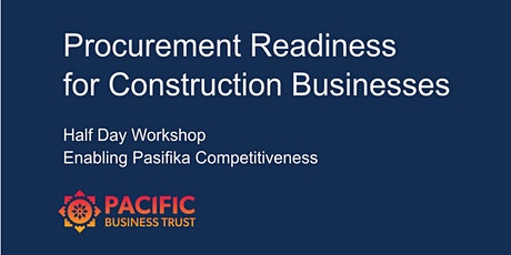 Procurement Readiness for Construction Businesses tickets