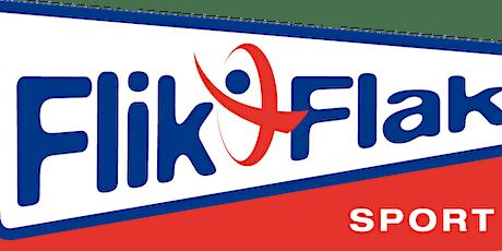 Zomerprogramma Flik-Flak Instuif turnhal 10 jaar en ouder tickets