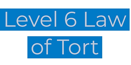 CILEx Level 6 Law of Tort tickets