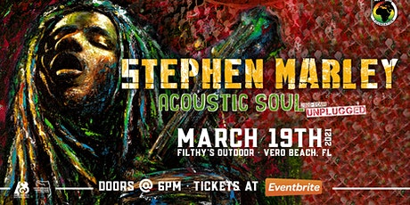 "STEPHEN MARLEY ""Acoustic Soul Tour"" - VERO tickets"
